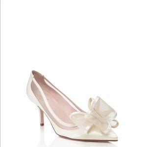 Kate Spade Ivory jackie heels